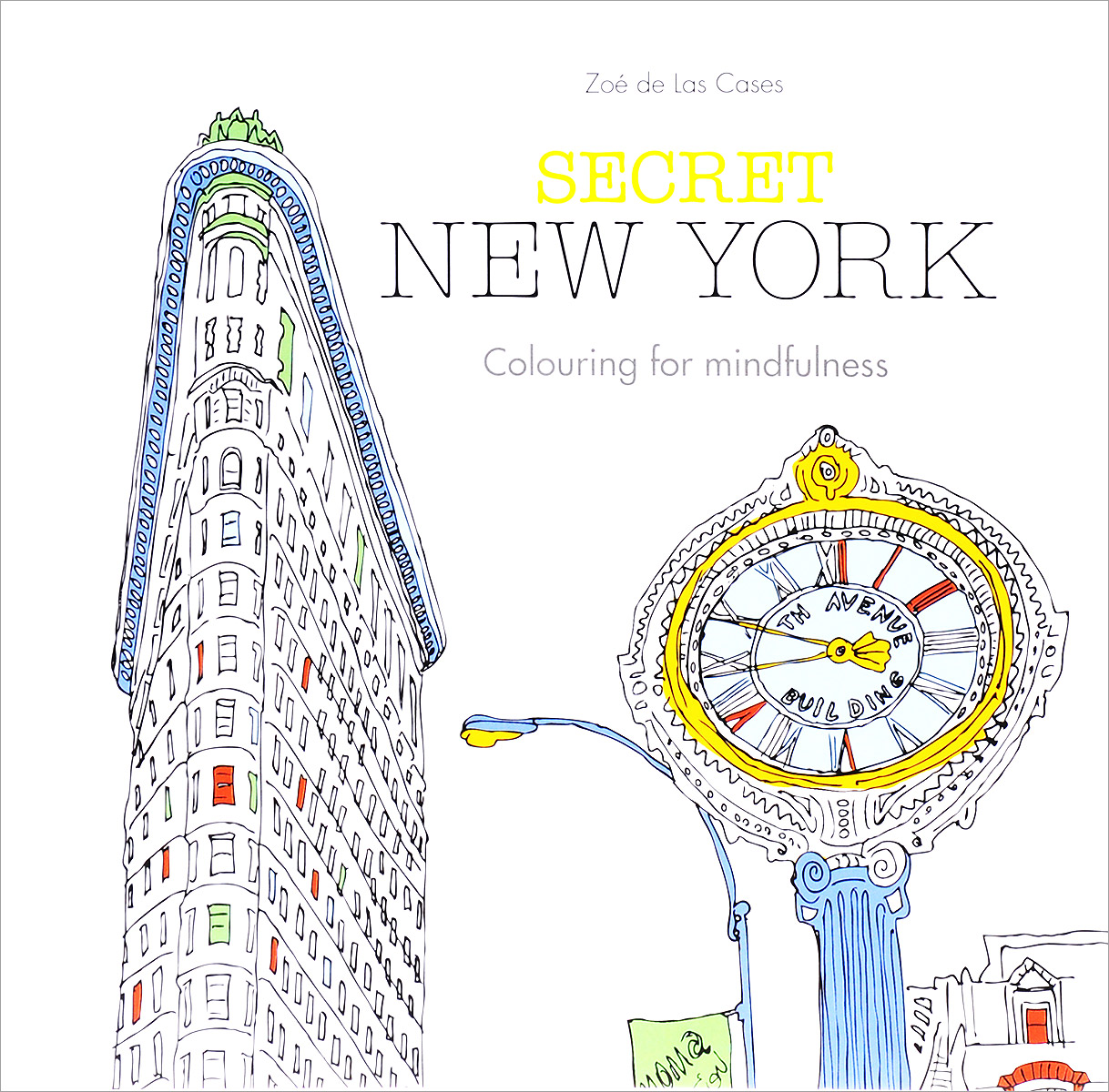 Secret New York: Colouring for Mindfulness found in brooklyn