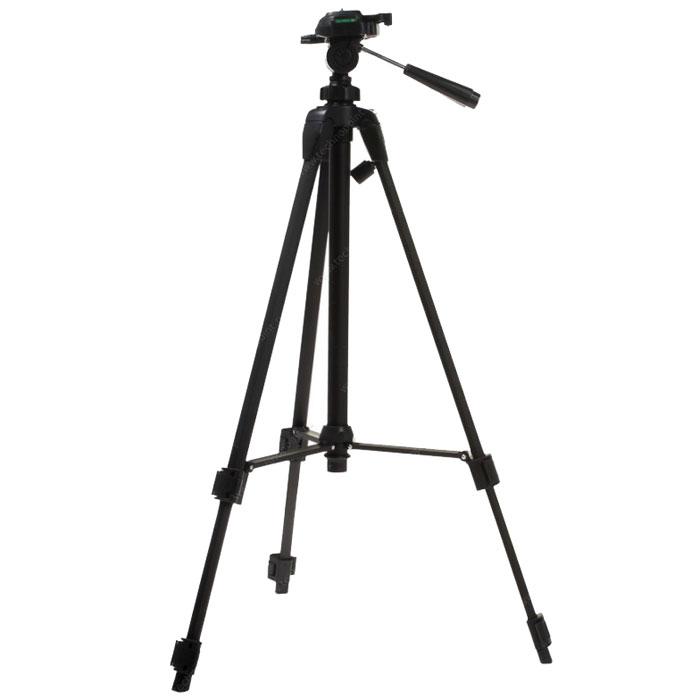 Era ECSA-3710 штативECSA-3710Штатив Era ECSA-3710 серии Classic Advanced. Легкий, компактный, и, вместе с тем, прочный и надежный штатив для фото- видеокамеры. Идеально подходит для большинства любительских и профессиональных фото- видеокамер.Трехсекционные ножки с резиновыми наконечниками 2 жидкостных уровня для точной установки штатива Ручка для переноски штатива
