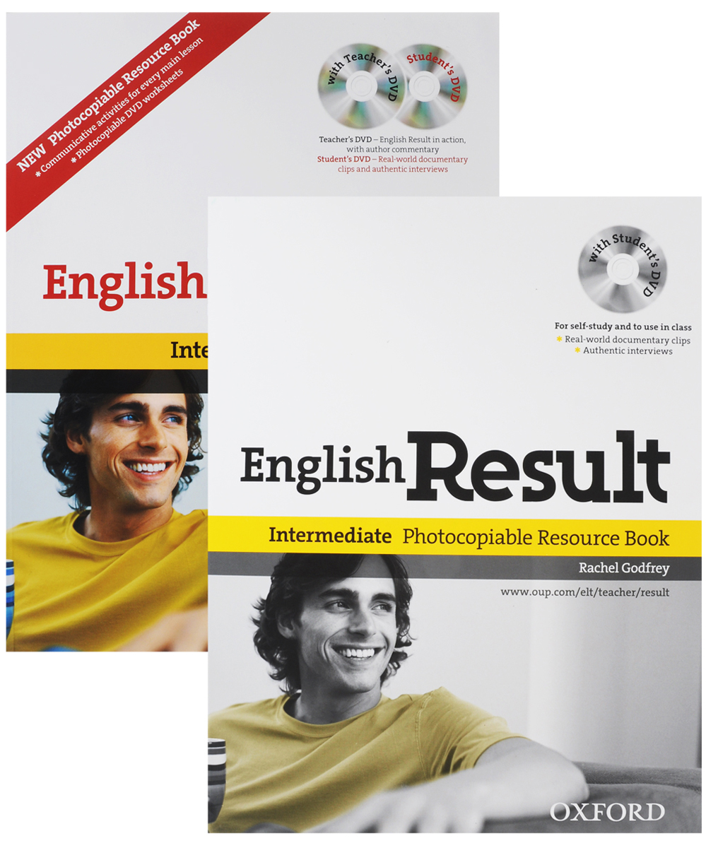 English Result: Level B12 (+ 2 DVD-ROM) (комплект из 2 книг) joe mckenna english result intermediate workbook dvd rom