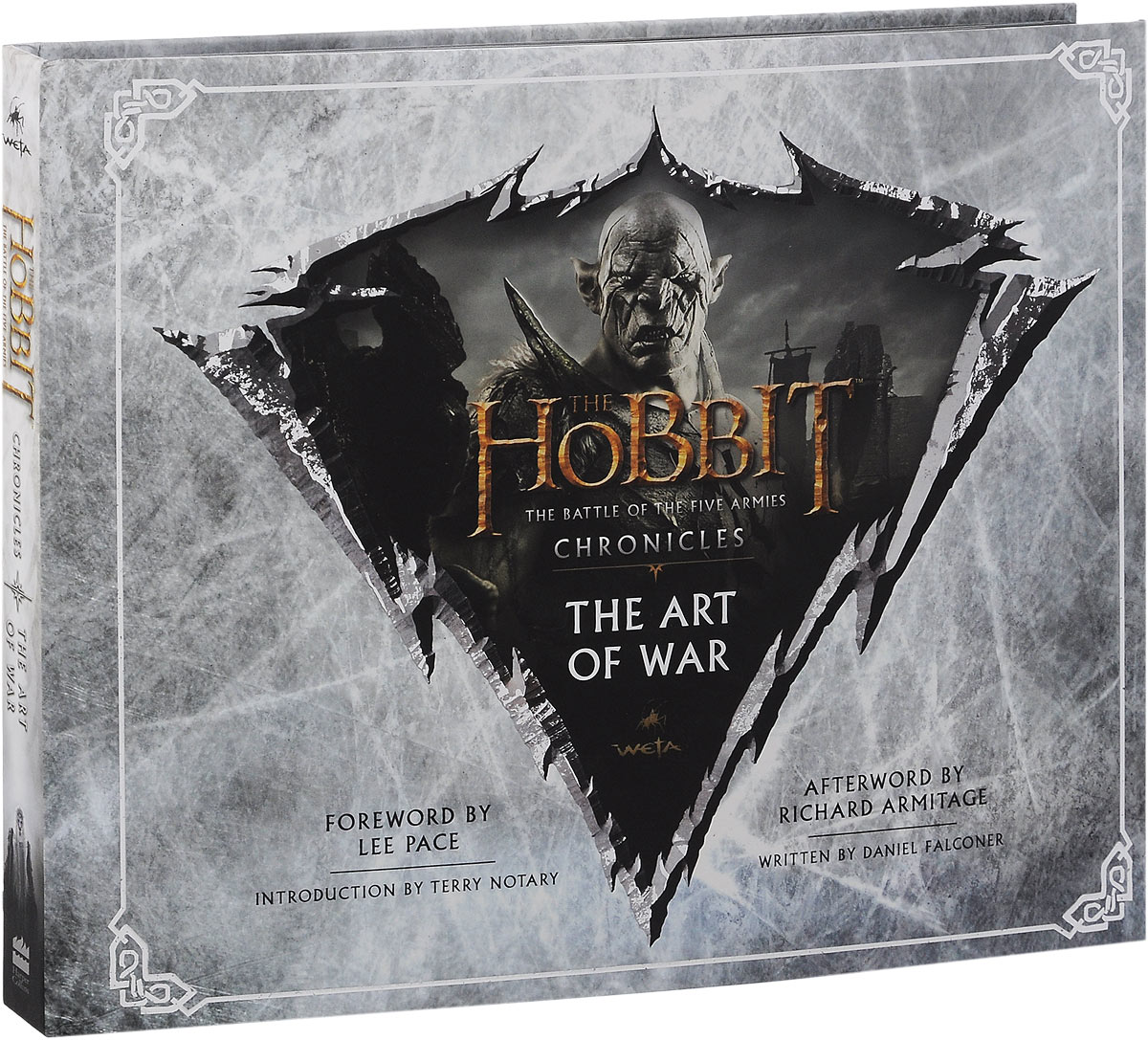 The Hobbit: The Battle of the Five Armies: Chronicles: The Art of War серьги fiore luna sah 22659 1 bl