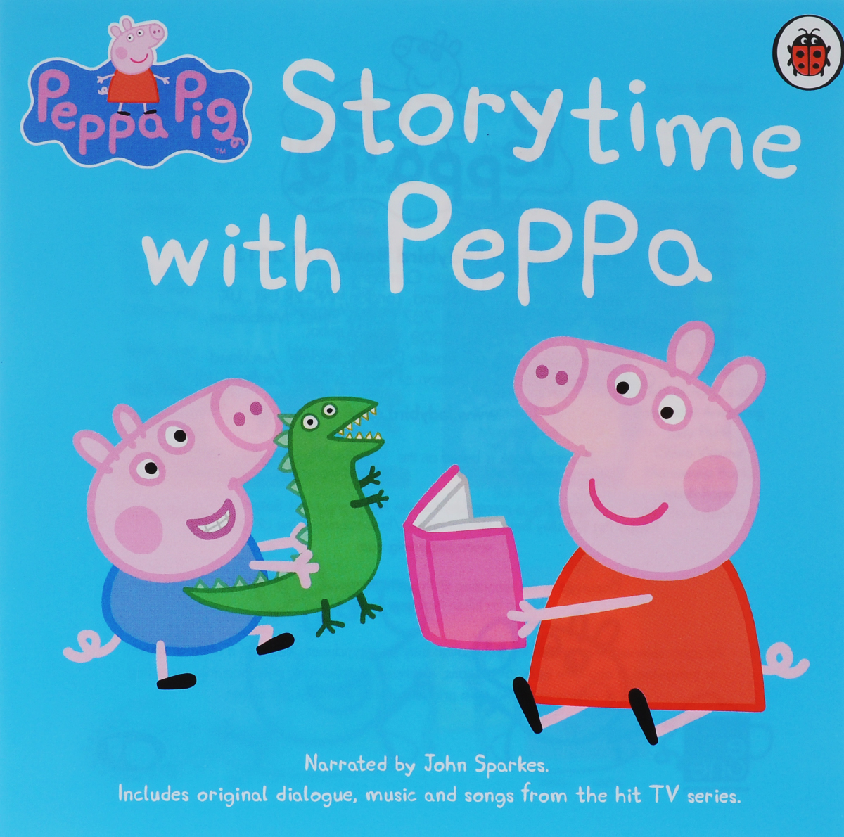 Storytime with Peppa (аудиокнига на CD) tiny goes camping