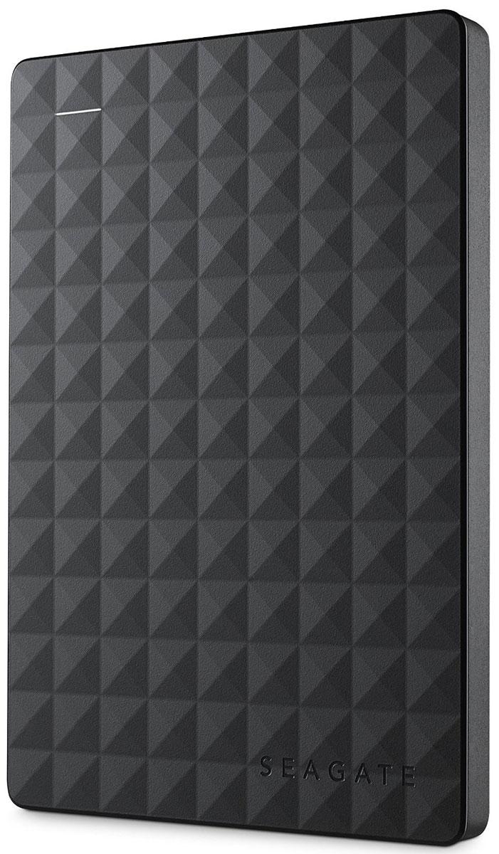 Seagate Expansion 500GB, Black внешний жесткий диск (STEA500400) - Носители информации