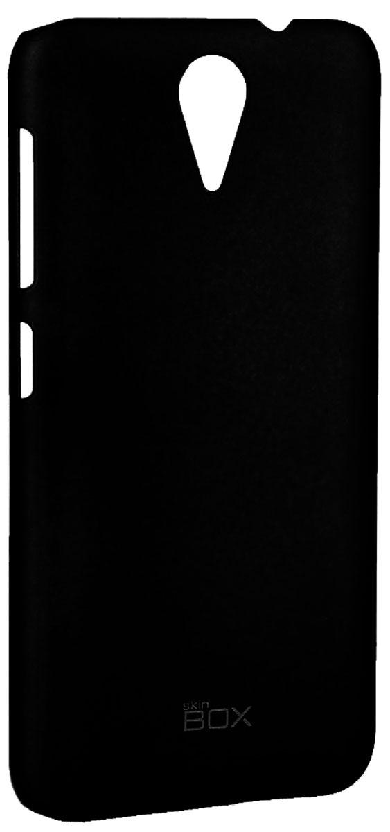 Skinbox 4People чехол для HTC Desire 620, BlackT-S-HD620-002Чехол - накладка Skinbox 4People для HTC Desire 620 бережно и надежно защитит ваш смартфон от пыли, грязи, царапин и других повреждений. Чехол оставляет свободным доступ ко всем разъемам и кнопкам устройства. В комплект также входит защитная пленка на экран.