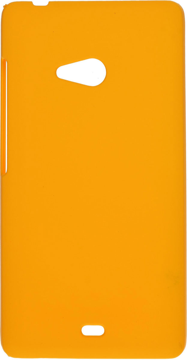 Skinbox 4People чехол для Microsoft Lumia 540, Yellow skinbox shield 4people чехол для microsoft lumia 535 white