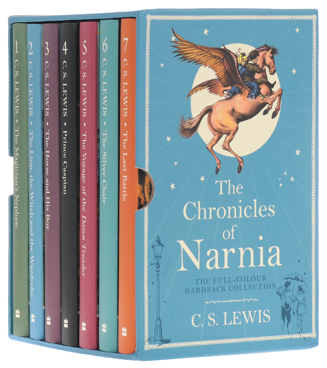 The Chronicles of Narnia (комплект из 7 книг) the john green collection комплект из 5 книг
