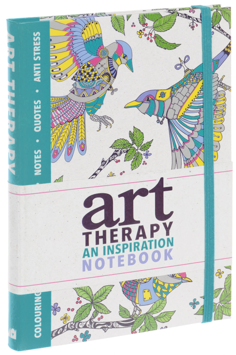 Art Therapy: An Inspiration Notebook folk art patterns to colour
