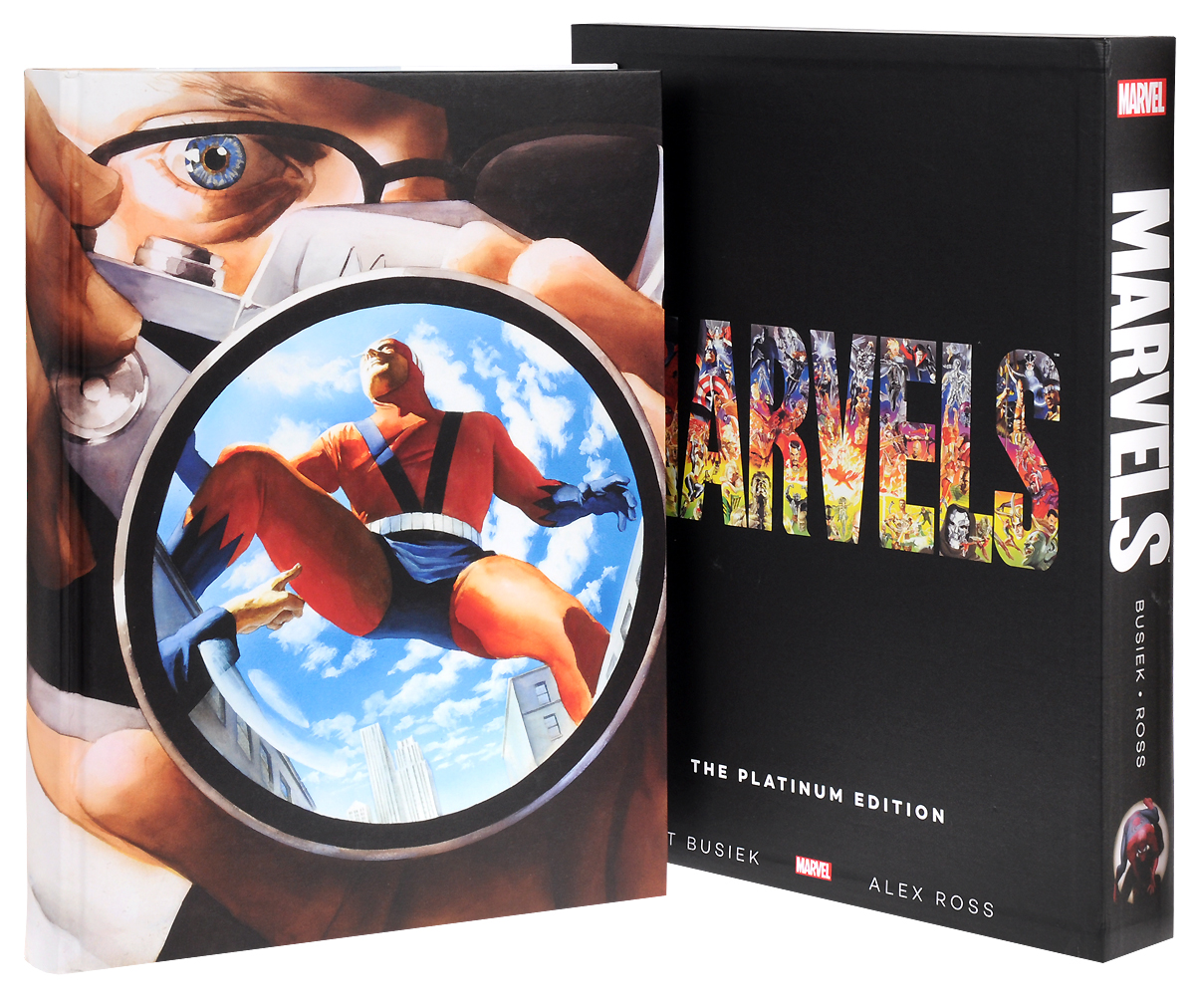Marvels: The Platinum Edition the salmon who dared to leap higher
