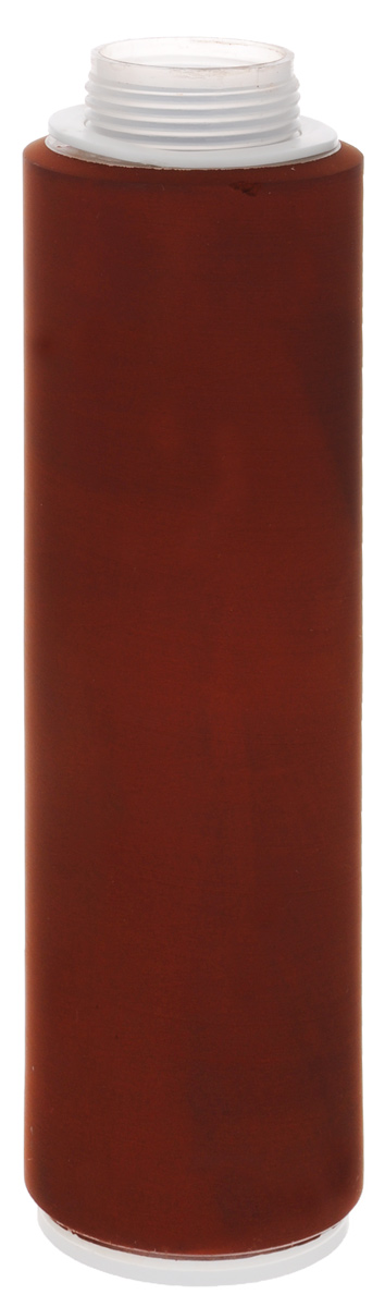 Картридж Гейзер Арагон Ж, для жесткой воды, 9-11 л/мин. Размер 10SL30024 9-11 лКартридж Гейзер Арагон Ж – модификация для регионов с жесткой водой. Признаки жесткой воды: накипь белого цвета в чайнике, белый налет на сантехнике, пленка в чае. Арагон-Ж – картридж из материала Арагон, разработанный для очистки жесткой воды (средний уровень минерализации). Имеет 3 уровня фильтрации (механический, ионообменный и сорбционный). Обладает важными свойствами: Антисброс – позволяет необратимо задерживать все отфильтрованные примеси; Регенерация - фильтрующие свойства картриджа можно восстанавливать в домашних условиях (2-3 регенерации); Квазиумягчение - арагонитовая структура солей жесткости снижает количество накипи, и вода насыщается полезным кальцием. Используется в системах Гейзер:- 3 ИВС Люкс; - 3 ИВЖ люкс; - 3 К Люкс. Так же картридж подходит для любой системы серии Гейзер 3, Гейзер Био, Гейзер Классик. Ресурс картриджа 7000 литров. Дополнительная информация окартридже: Картридж Арагон Ж удаляет из воды избыточные соли жесткости, железо и другие вредные примеси. Количество солей жесткости снижается до рекомендуемого медиками уровня. Благодаря эффекту квазиумягчения оставшиеся в воде соли кальция находятся в основном в арагонитовой форме. Картридж Арагон предназначен для комплексной очистки воды от солей жесткости, механических частиц, растворенных примесей и бактерий. Применяется в бытовых фильтрах торговой марки Гейзер и в промышленных системах очистки воды. Фильтроматериал Арагон изготовлен по специальной технологии уникального микропористого ионообменного полимера с бактериостатической добавкой серебра. Механические примеси (ржавчина, ил, песок, глина) осаждаются преимущественно на внешней поверхности фильтроматериала. Соединения железа, алюминия, свинца, радиоактивных элементов и другие растворимые примеси удаляются в процессе ионного обмена. Внутренняя поглощающая поверхность удаляет из воды хлор, органические соединения, нефтепродукты, хлорорганические соединения 