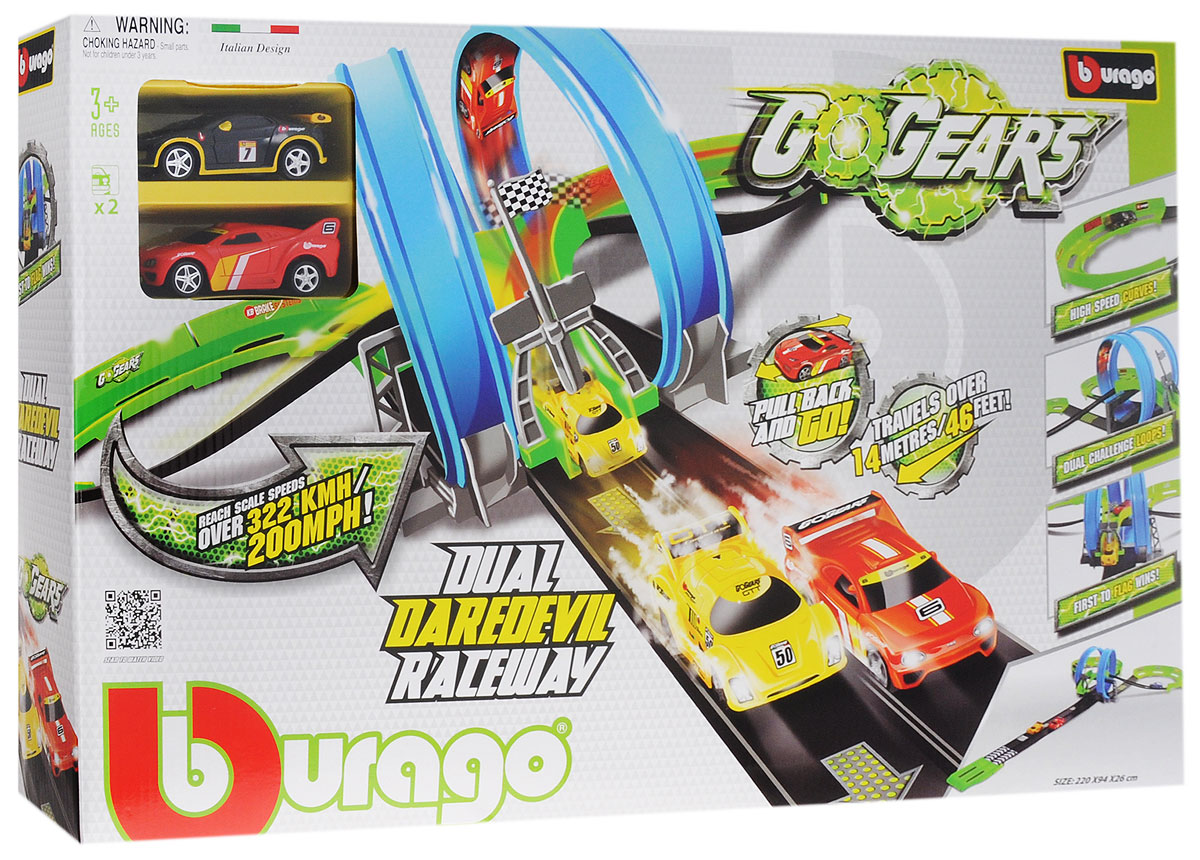 Bburago Гоночный трек Dual Daredevil Raceway