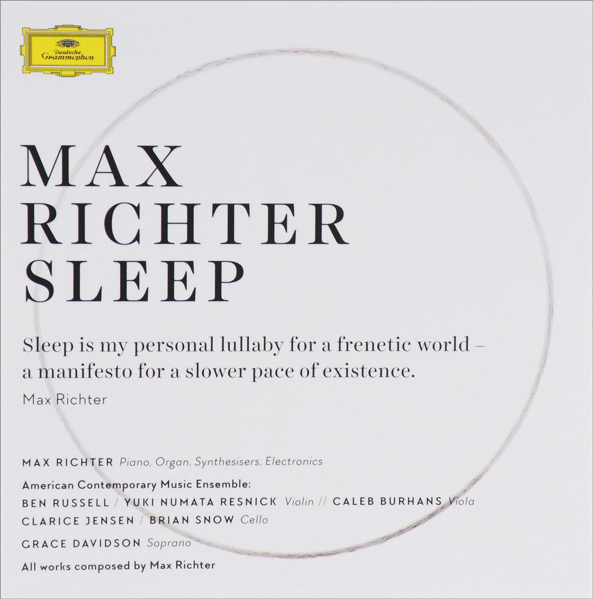 Max Richter.  Sleep (8 CD + Blu-ray) Deutsche Grammophon GmbH,ООО