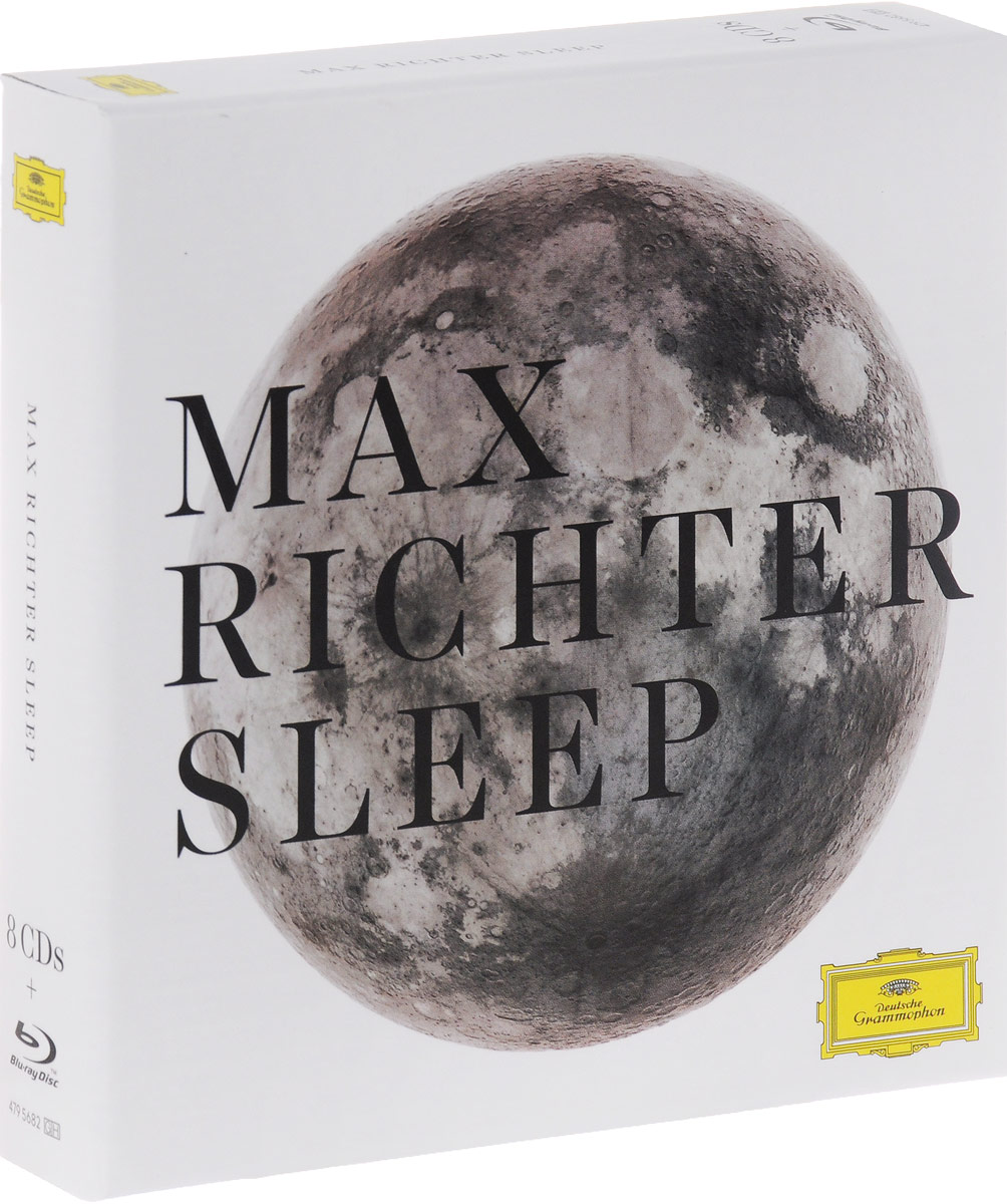 Max Richter. Sleep (8 CD + Blu-ray)