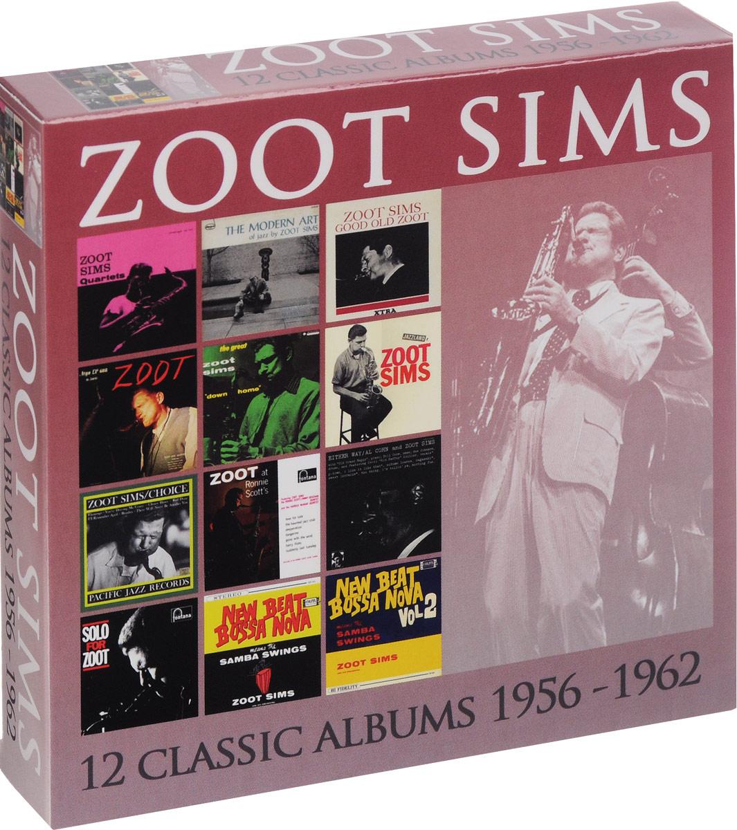 Зут Симс Zoot Sims. 12 Classic Albums 1956 - 1962 (6 CD)