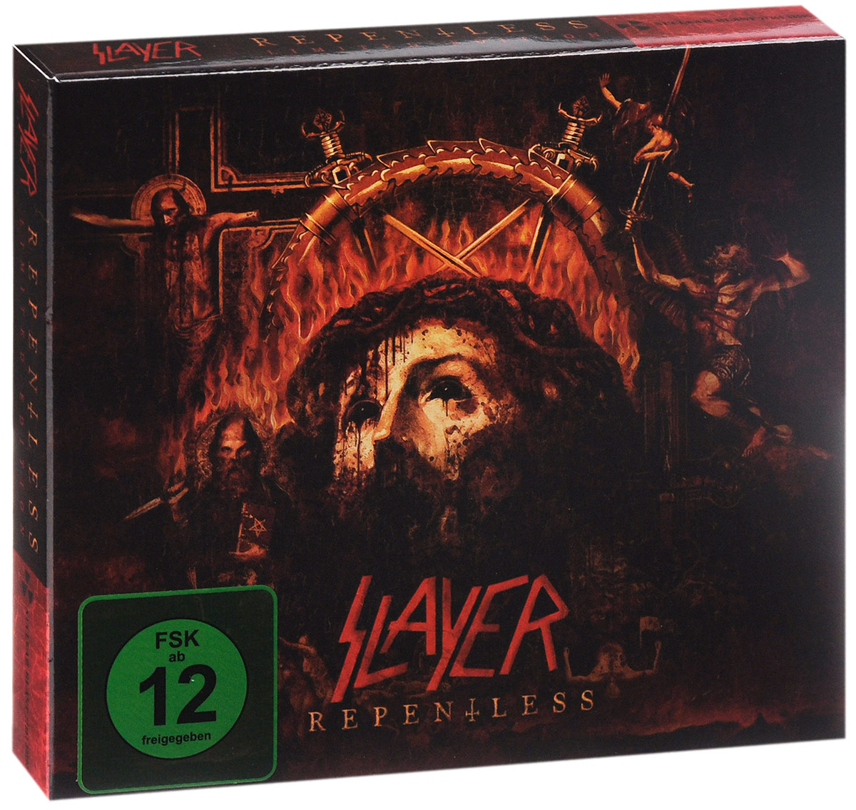 Slayer Slayer. Repentless. Limited Edition (CD + DVD) evanescence – synthesis deluxe edition cd dvd