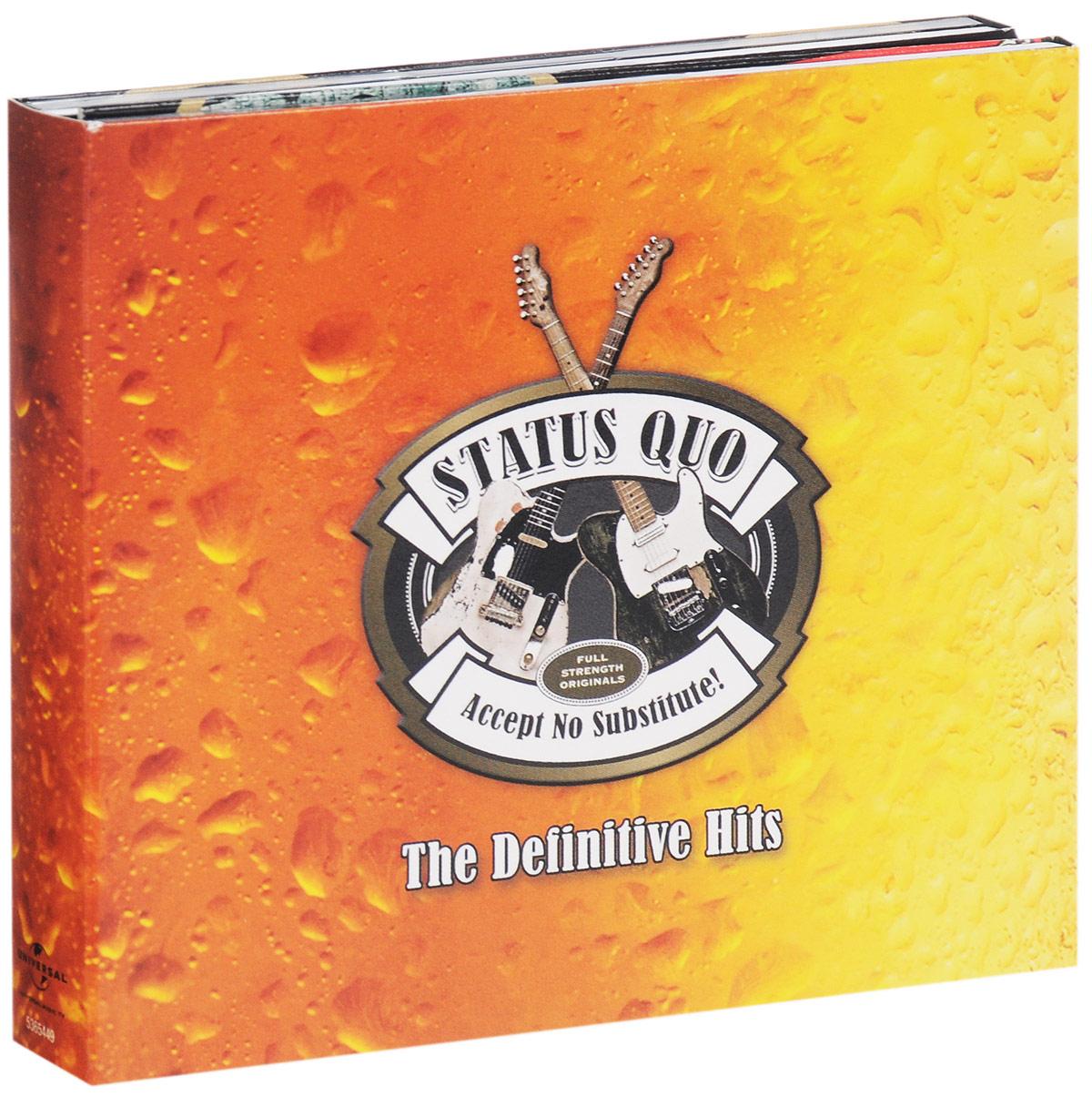 Status Quo Status Quo. Accept No Substitute. The Definitive Hits (3 CD) status quo status quo piledriver deluxe edition 2 cd