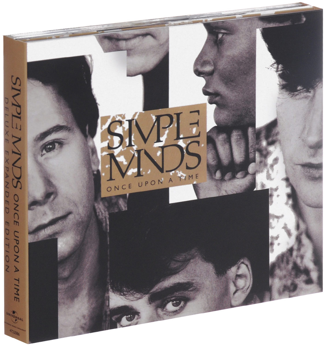 Simple Minds Simple Minds. Once Upon a Time. Deluxe Edition (2 CD) simple minds simple minds sparkle in the rain 4 cd dvd