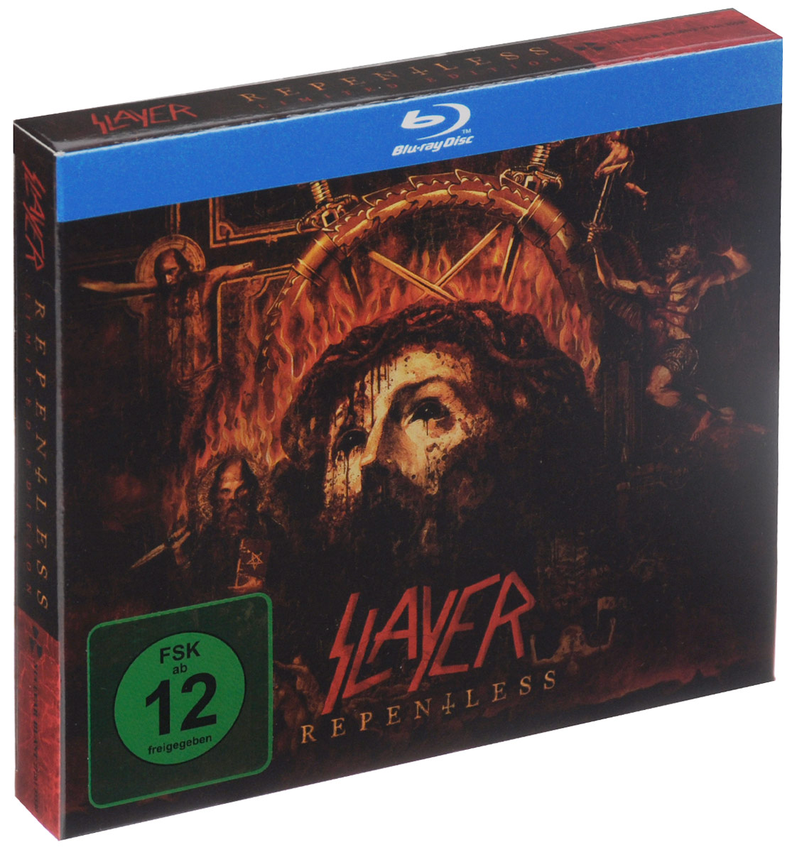 Slayer Slayer. Repentless. Limited Edition (CD + Blu-ray) semyon bychkov giuseppe verdi otello blu ray