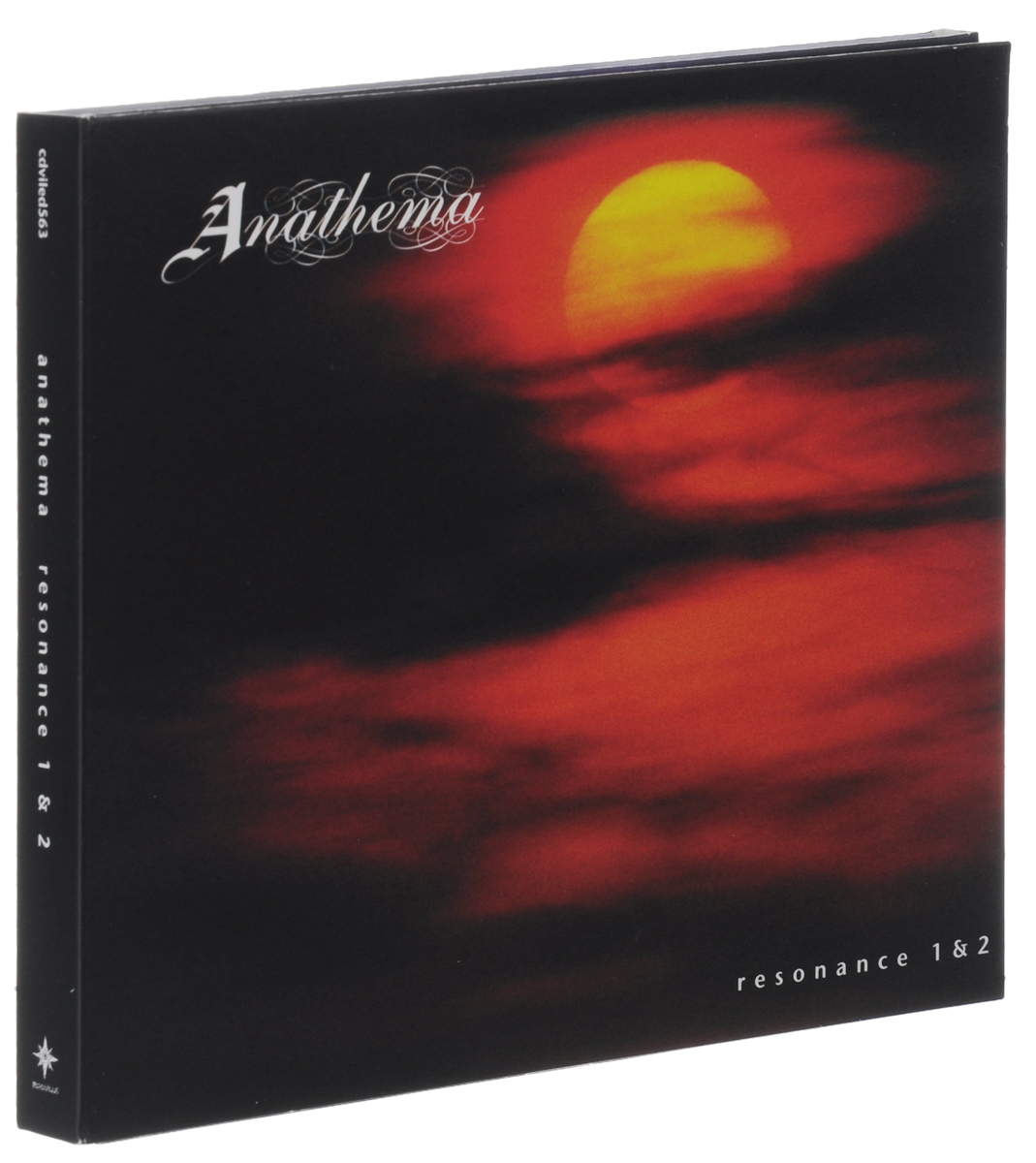 Anathema Anathema. Resonance 1 & 2 (2 CD) тетрадь на пружине printio тетрадь аниме
