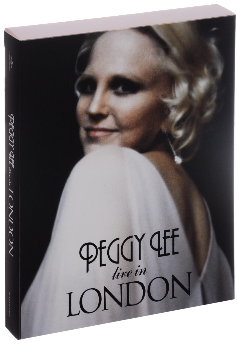 Peggy Lee. Live In London (3 CD + DVD)