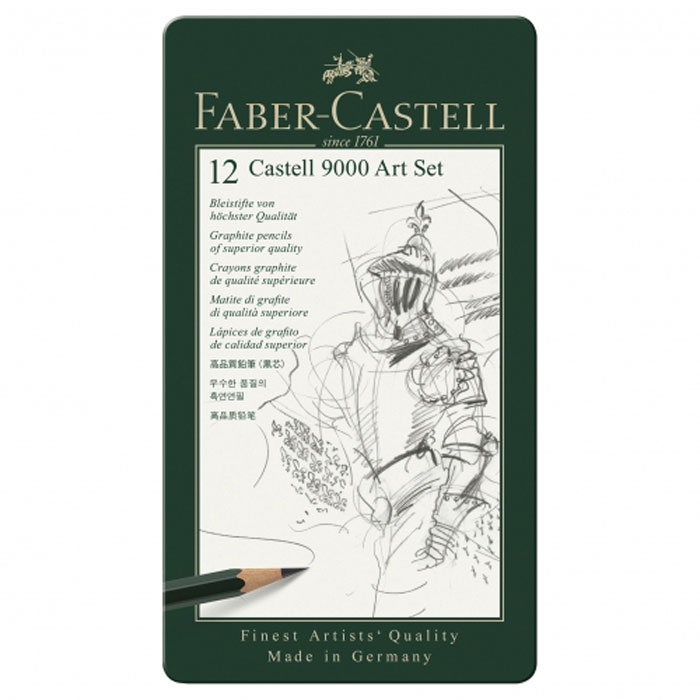 Faber-Castell Карандаш чернографитовый 12 шт 14 pieces sketch drawing pencil set 12b10b 8b 7b 6b 5b 4b 3b 2b 1b hb 2h 4h 6h