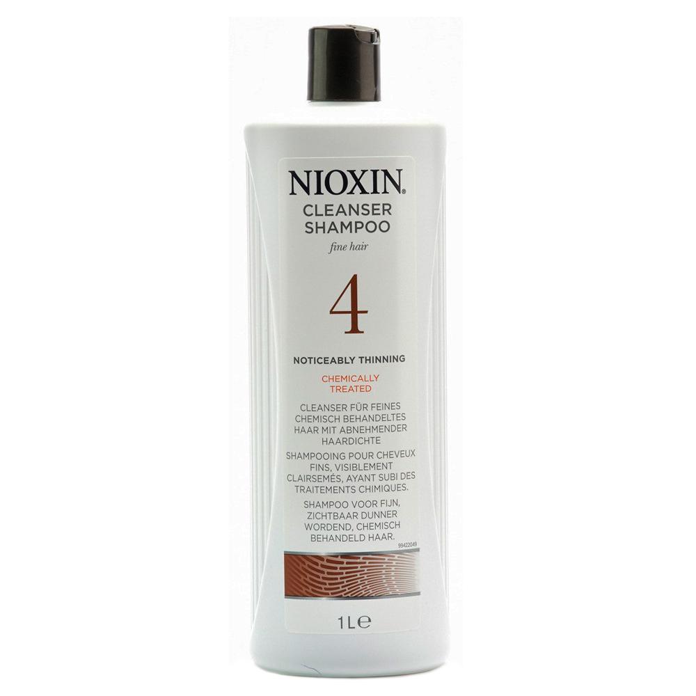 Nioxin Cleanser Очищающий шампунь (Система 4) System 4, 1000 мл nioxin cleanser system 6 очищающий шампунь система 6 300 мл
