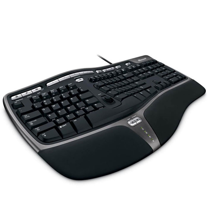 все цены на Microsoft Natural Ergonomic Keyboard 4000 (B2M-00020), Black клавиатура