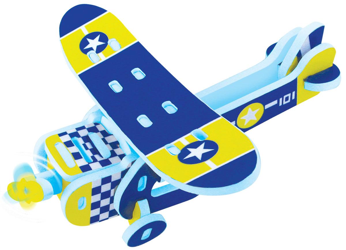 Bebelot 3D мягкий конструктор Моноплан игрушка для активного отдыха bebelot захват beb1106 045