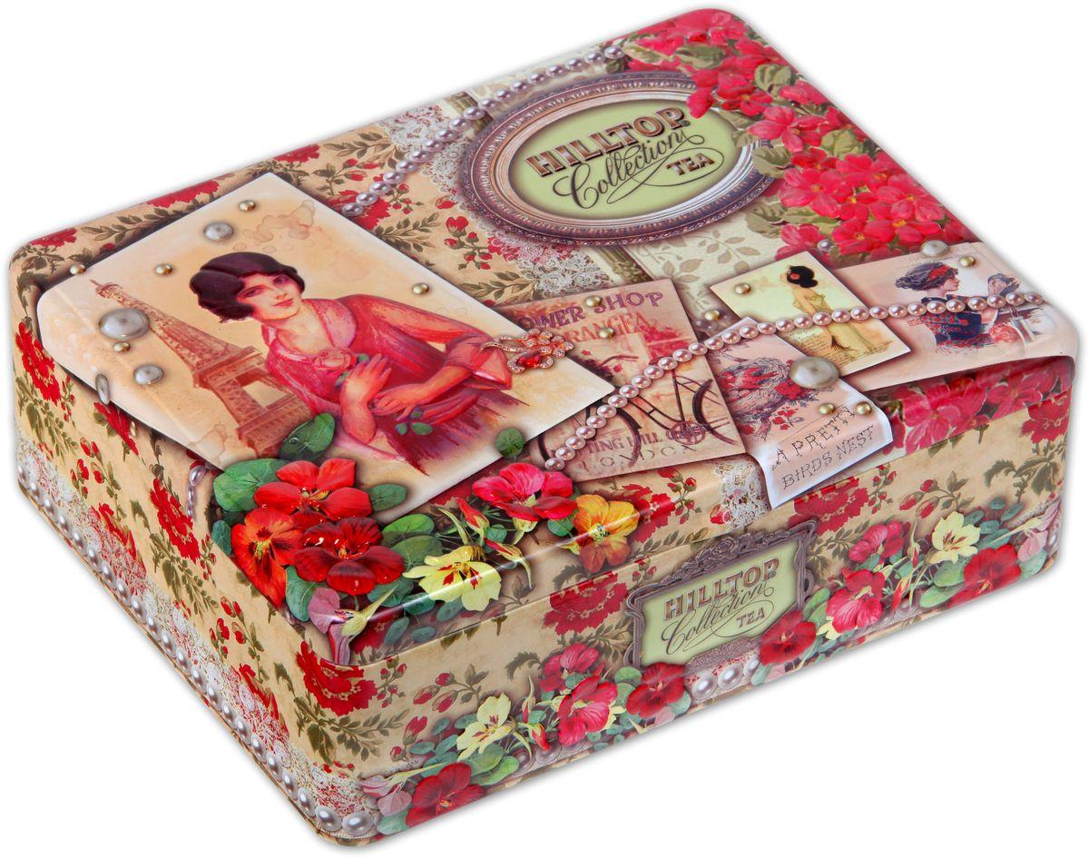 Hilltop Парижанка чайный набор, 200 г чай алтайфлора набор чайный гипотензивный