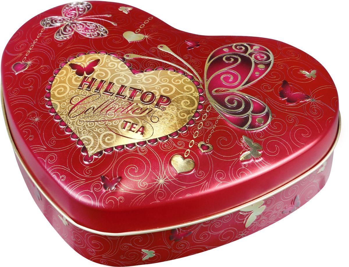 Фото Hilltop Золотые узоры Подарок Цейлона черный листовой чай, 100 г