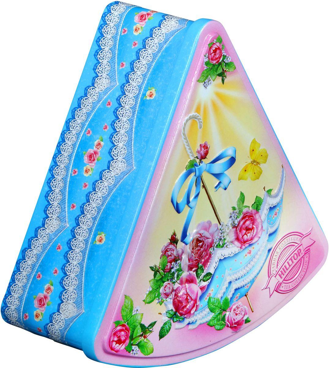 HilltopСолнечный зонтик Цитрусовая фантазия черный листовой чай, 100 г Hilltop