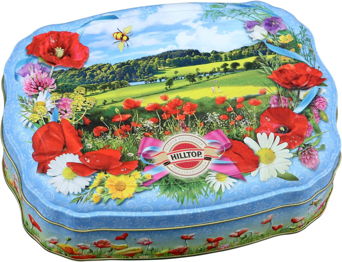 Hilltop Весенний луг черный листовой чай, 100 г