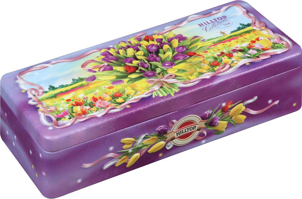Hilltop Букет тюльпанов чайный набор, 150 г