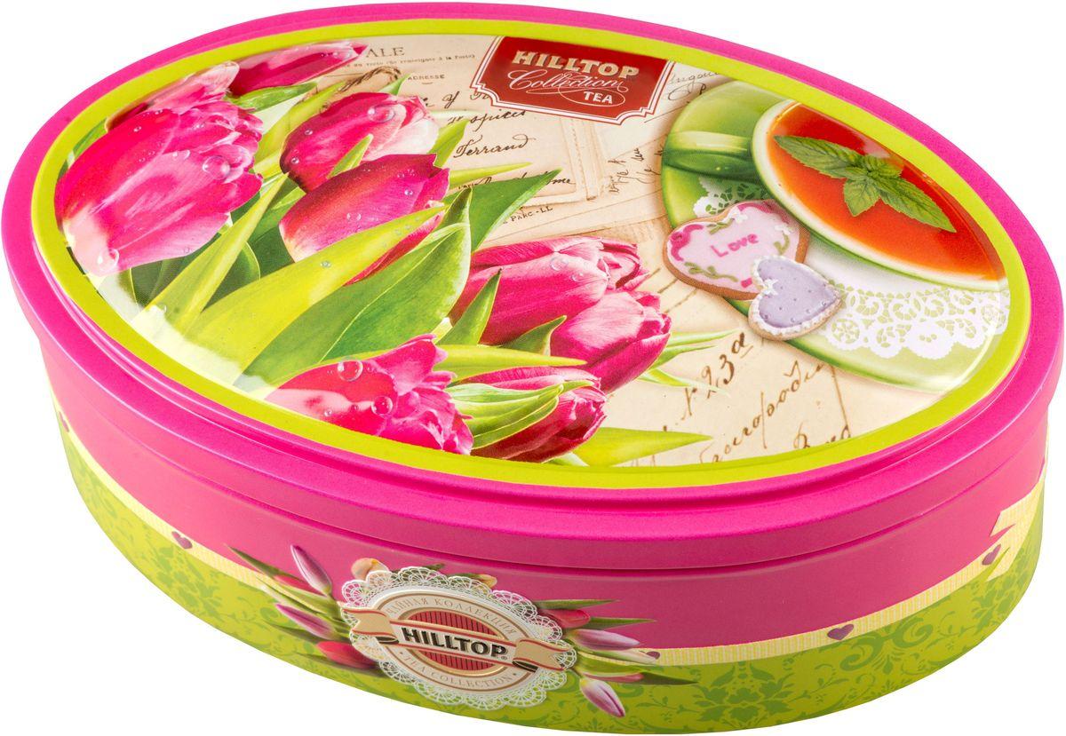 Hilltop Розовые тюльпаны. Цейлонское утро черный листовой чай, 100 г4607099306271Hilltop Розовые тюльпаны. Цейлонское утро - классический цейлонский черный чай с терпким вкусом, мягким ароматом и тонизирующими свойствами. Отлично дополняет завтрак или праздничный сладкий стол.Всё о чае: сорта, факты, советы по выбору и употреблению. Статья OZON Гид