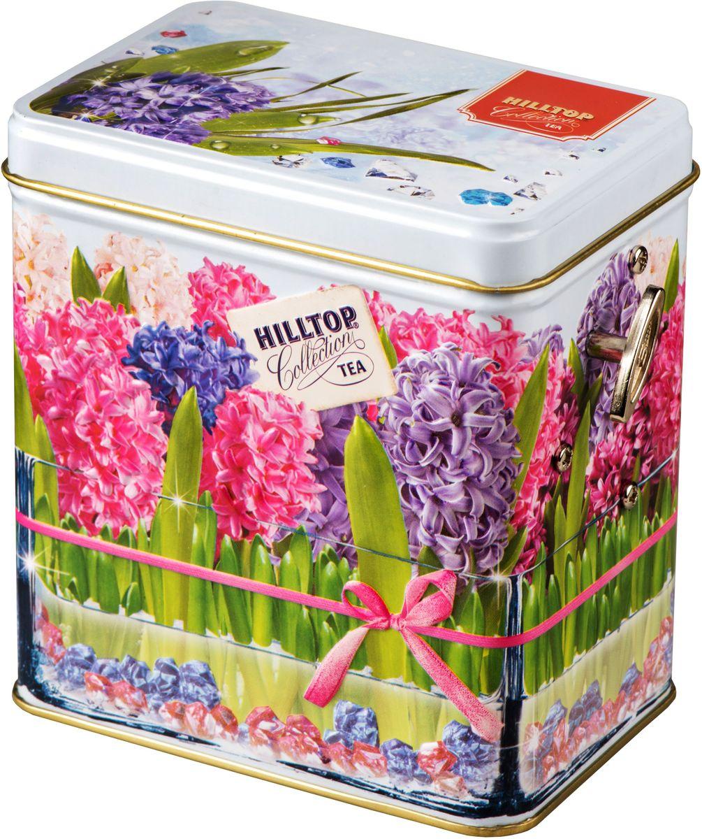 Hilltop Цветущие гиацинты. Подарок Цейлона черный листовой чай, 100 г