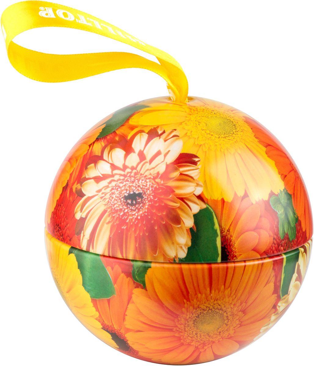 Hilltop Солнечные цветы. Цитрусовая фантазия черный листовой чай, 80 г4607099306394Hilltop Солнечные цветы. Цитрусовая фантазия– черный чай с благоухающим ароматом апельсинового масла, дополненного календулой и васильком в сочетании с тонкими нотами лемонграсса и шиповника. Такой чай станет отличным подарком для друзей и близких.Всё о чае: сорта, факты, советы по выбору и употреблению. Статья OZON Гид