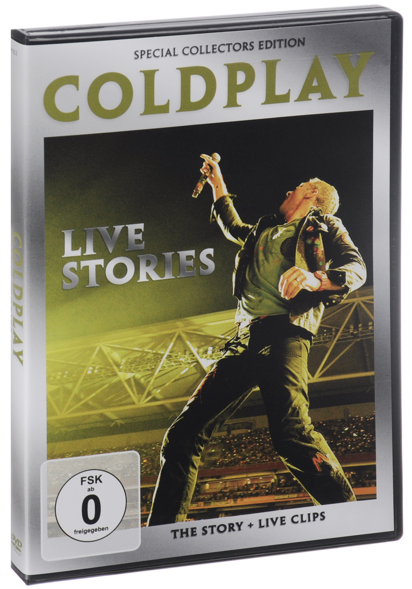 Coldplay: Live Stories: Special Collector's Edition tvxq special live tour t1st0ry in seoul kpop album