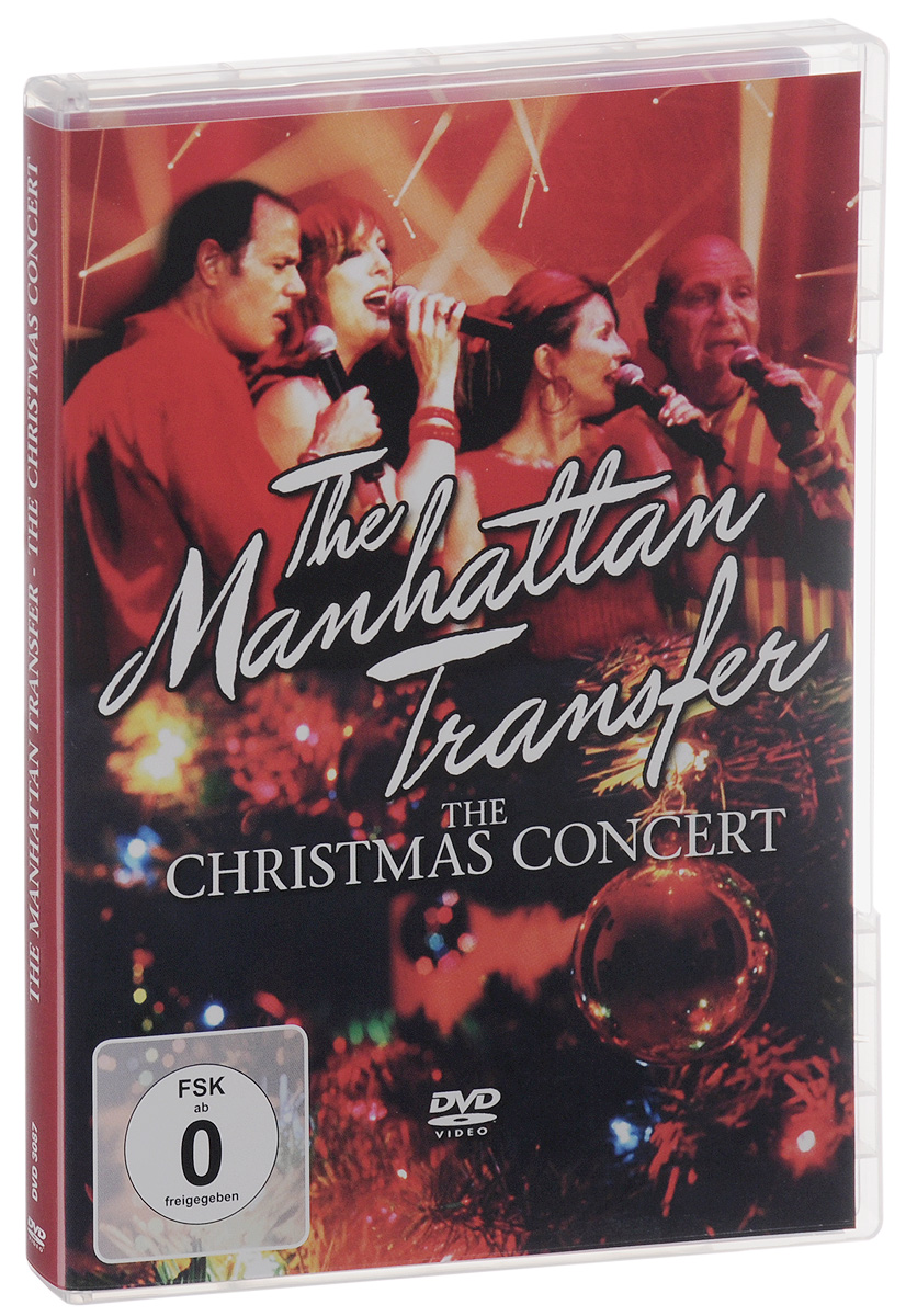 The Manhattan Transfer: The Christmas Concert caroling angel красный 30 14 25см