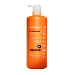 Lebel Proscenia Маска для окрашенных волос и волос после химического выпрямления Treatment M 980 мл lebel средство для облегчения расчесывания для окрашенных волос lebel proscenia drying fix 0410 200 мл