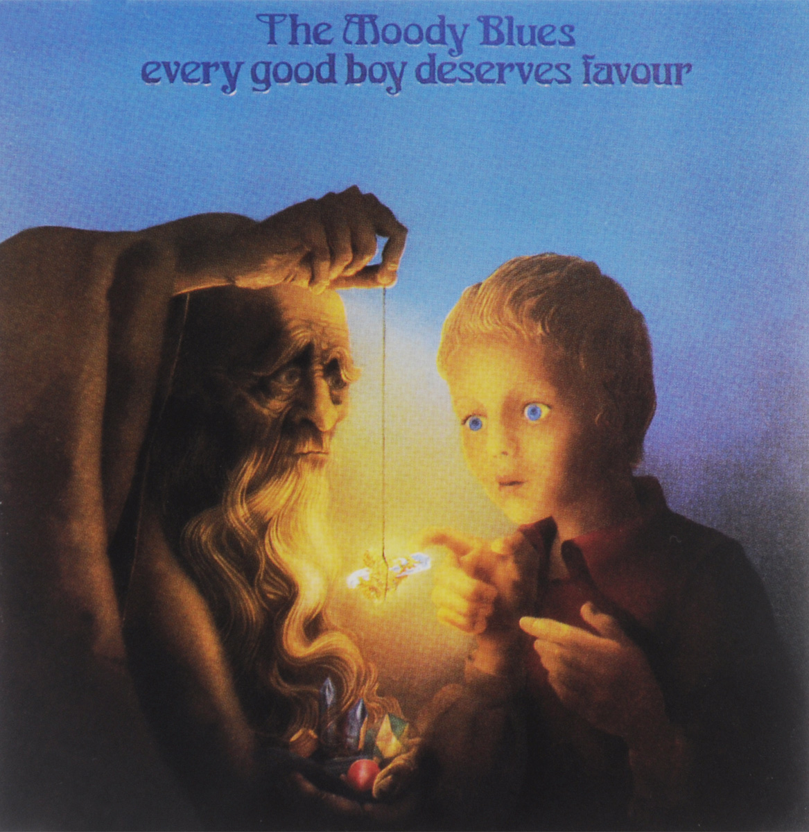 The Moody Blues The Moody Blues. Every Good Boy Deserves Favour moody blues moody blues on the threshold of a dream 180 gr