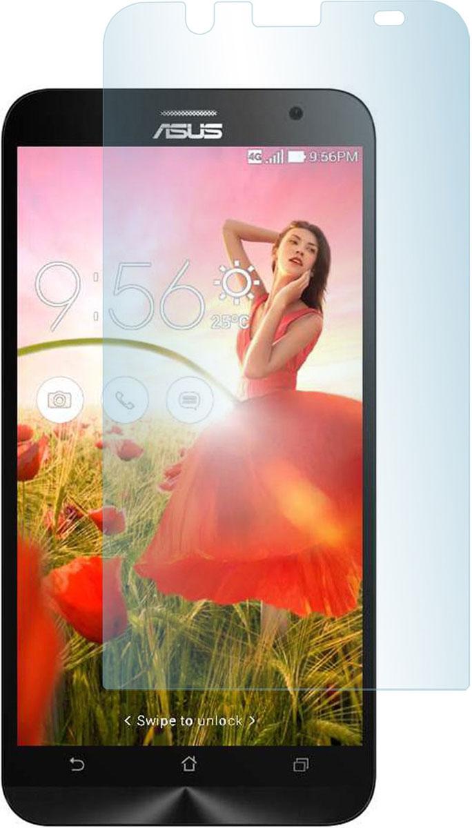 Skinbox защитное стекло для Asus Zenfone Laser 2 ZE550KL, глянцевое смартфоны asus смартфон zenfone 2 laser ze550kl 32gb чёрный