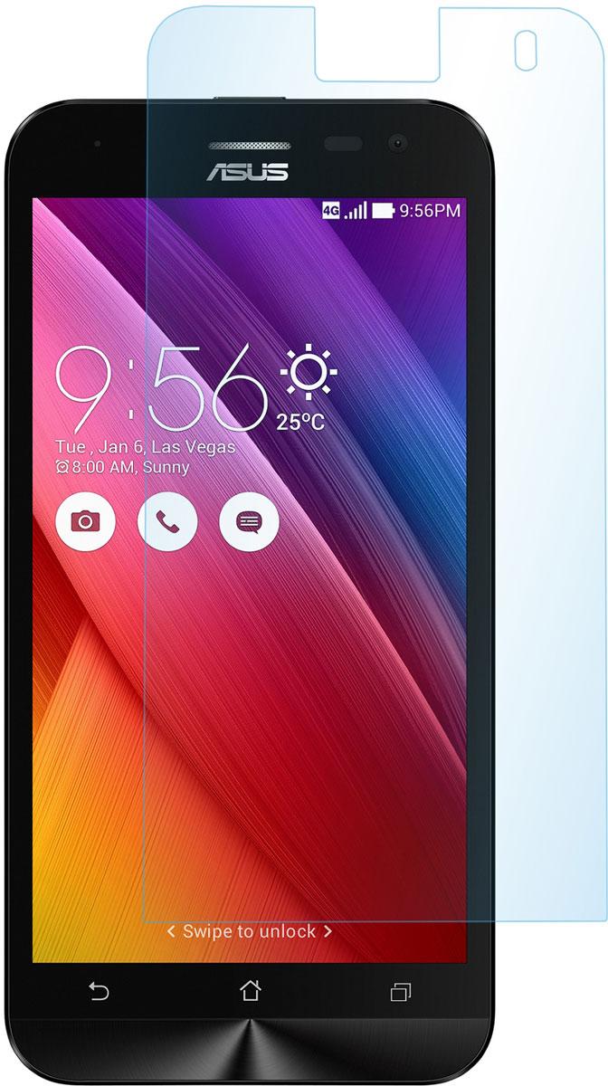 все цены на Skinbox защитное стекло для Asus Zenfone Selfie ZD551KL, глянцевое онлайн