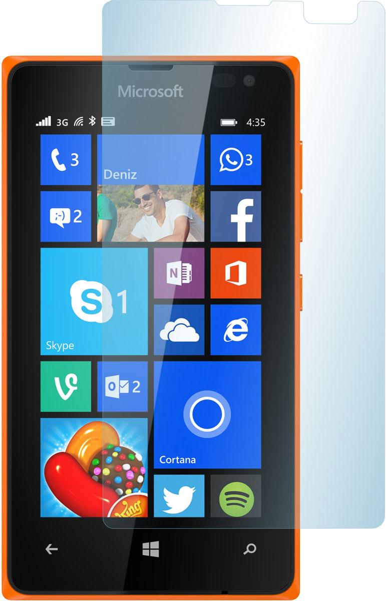 Skinbox защитное стекло для Microsoft Lumia 435/532, глянцевое