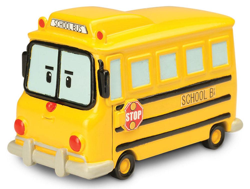 Robocar Poli Школьный автобус Скулби robocar poli кейс для хранения машинок скулби