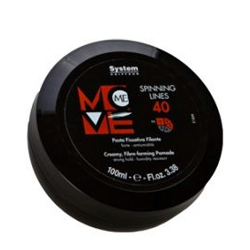 Dikson Move Нитевидный крем-гель с UV-фильтром Me 40 Spinning Lines 100 мл2140Нитевидный крем-гель с UV-фильтром идеально подходит для создания уникальных укладок. Не оставляет пятен на одежде и придаёт ослепительный блеск волосам благодаря содержащимся в нём гидролизированным маслам.