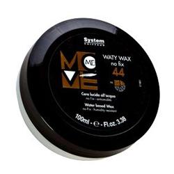 Dikson Move Воск для моделирования причесок Me 44 Waty Wax 100 мл2144Замечательное средство для создания четкой, гладкой текстуры на выпрямленных волосах. Придает выразительный блеск и подчеркивает интенсивность цвета волос. Позволяет моделировать текстуру волос разной длины. Является завершающим этапом в создании прически. Рекомендуется как для мужских, так и для женских причесок.Степень фиксации: 1