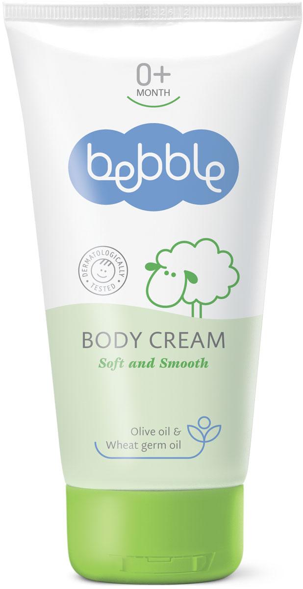 Bebble Крем для тела Body Cream 150 мл300910Легкий и нежный крем для тела bebble может только дополнить неописуемое ощущение прикосновения к мягкой коже малыша. Идеально подходит для повседневного ухода, питает и гидратирует кожу. Крем для тела легко наносится и быстро впитывается, не оставляя жирных следов. Его специальная формула богата природными маслами, которые питают и смягчают нежную кожу младенца, обеспечивая защиту в течение всего дня. Природные и активных ингредиентов в этой Bebble продукта: Масло оливы Это масло является популярным ингредиентом здорового образа жизни в течение многих веков. Богатое ненасыщенными жирами, оно быстро проникает в кожу и обеспечивает глубокое увлажнение. Помогает смягчить кожу, оставляя приятное ощущение шелковистости. Масло зародышей пшеницы Масло зародышей пшеницы является абсолютным чемпионом по содержанию витамина E. А также богато другими витаминами (А, B, D, F, PP), пантотеновой и фолиевой кислотой, омега-жирными кислотами и бета-глюканами; веществами, стимулирующими естественную защиту кожи от микробов, загрязнения и UV-лучей. Д-пантенол Также известен как провитамин B5, D-пантенол придает коже мягкость и гладкость, улучшает ее внешний вид. Проникает в верхний слой кожи и поддерживает ee естественный баланс влаги, и в тоже время стимулирует рост и восстановление клеток. Витамин E Витамин Е является наиболее эффективным антиоксидантом. Укрепляет иммунную систему и имеет важное значение в поддержании эластичности и витальности кожи. Витамин Е помогает уменьшить вредное воздействие солнца и обеспечивает дополнительную защиту кожи.