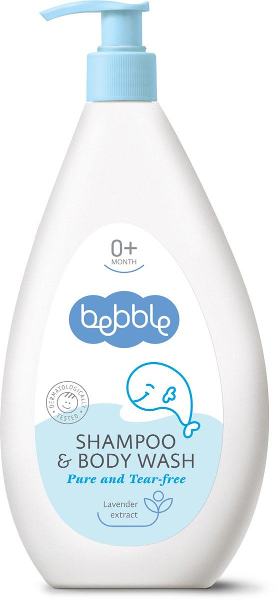 Bebble Шампунь для волос и тела Shampoo & Body Wash 400 мл301092День, проведенный с малышом — это день, наполненный любовью. Tеплая расслабляющая ванна с шампунем для волос и тела bebble представляет собой лучший способ окончания дня. Мягкая формула, специально разработанная для малышей, особенно нежна для глаз. Пушистая пенка шампуня деликатно очищает волосы и кожу, не иссушая их. Добавленный экстракт лаванды обладает успокаивающим и антисептическим действием. Благодаря этому шампуню время купания малыша превратится в твое любимое время дня.Природные и активных ингредиентов в этой Bebble продукта:Экстракт лавандыЭкстракт лаванды обладает антисептическими, противомикробными и мягкообезболивающими свойствами. Стимулирует рост здоровых клеток, помогает снять отеки и балансирует содержание влаги на коже.