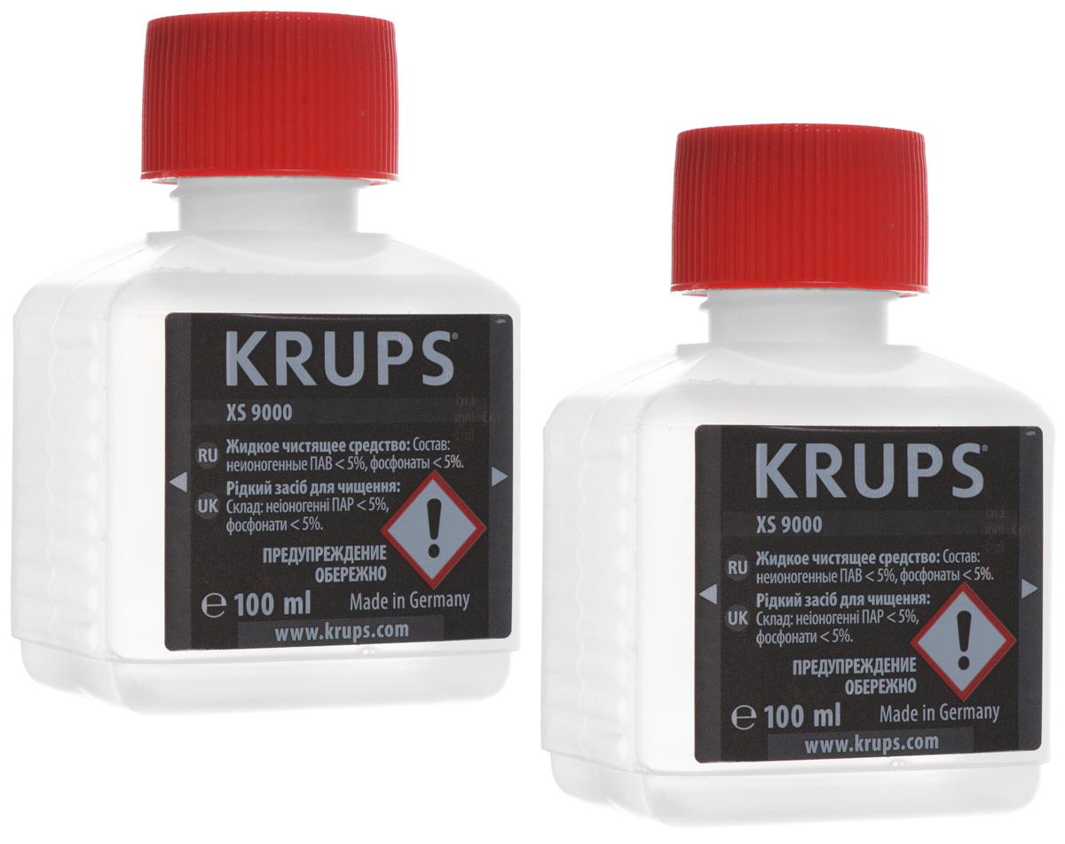 Krups XS900031 жидкость для очистки кофемашины кофеварка рожкового типа krups xp344010