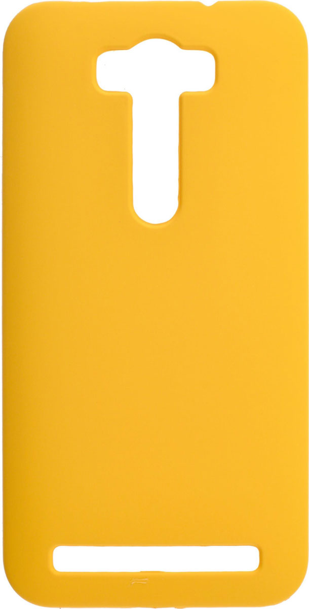 все цены на Skinbox 4People чехол для Asus Zenfone Laser 2 ZE500KL/ZE500KG, Yellow онлайн