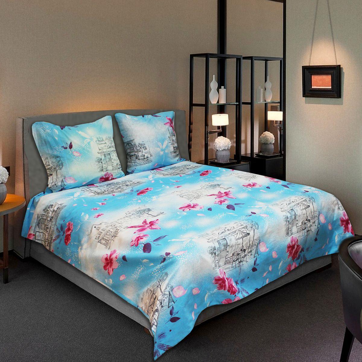 Комплект белья Amore Mio Light, 2-спальный, наволочки 70х7077713Комплект постельного белья Amore Mio является экологически безопасным для всей семьи, так как выполнен из бязи (100% хлопок). Комплект состоит из пододеяльника, простыни и двух наволочек. Постельное белье оформлено оригинальным рисунком и имеет изысканный внешний вид.Легкая, плотная, мягкая ткань отлично стирается, гладится, быстро сохнет. Рекомендации по уходу: Химчистка и отбеливание запрещены.Рекомендуется стирка в прохладной воде при температуре не выше 30°С.