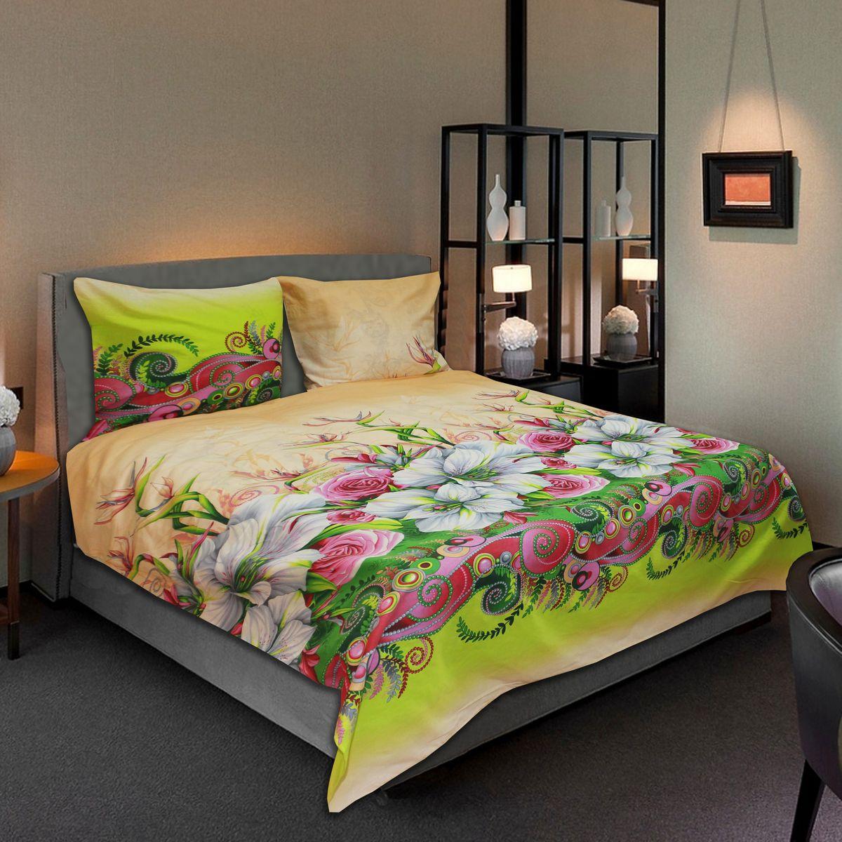 Комплект белья Amore Mio Sweet, 2-спальный, наволочки 70х7077714Комплект постельного белья Amore Mio является экологически безопасным для всей семьи, так как выполнен из бязи (100% хлопок). Комплект состоит из пододеяльника, простыни и двух наволочек. Постельное белье оформлено оригинальным рисунком и имеет изысканный внешний вид.Легкая, плотная, мягкая ткань отлично стирается, гладится, быстро сохнет. Рекомендации по уходу: Химчистка и отбеливание запрещены.Рекомендуется стирка в прохладной воде при температуре не выше 30°С.